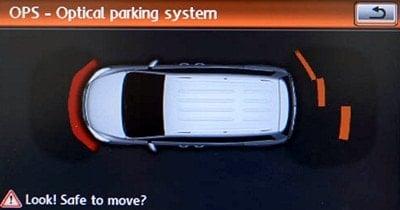 парктроник с визуальной индикацией