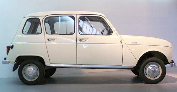 Renault 4L - первый хэтчбек