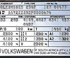 Что такое VIN код автомобиля