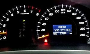 VSC System: что это такое на Toyota и Lexus