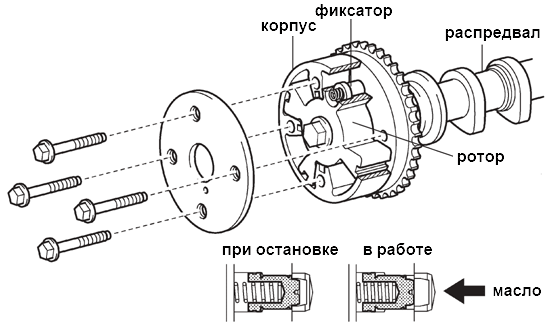 устройство VVT-i