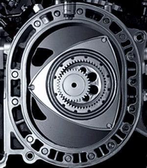 как выглядит двигатель Ванкеля