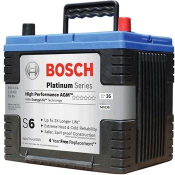 AGM аккумулятор от BOSCH