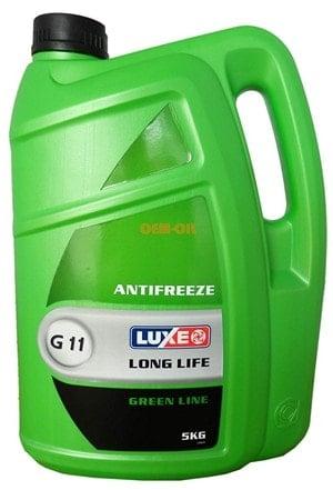 Зеленый антифриз или G11