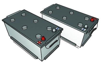 обратная и прямая полярность на аккумуляторе для грузовых автомобилей