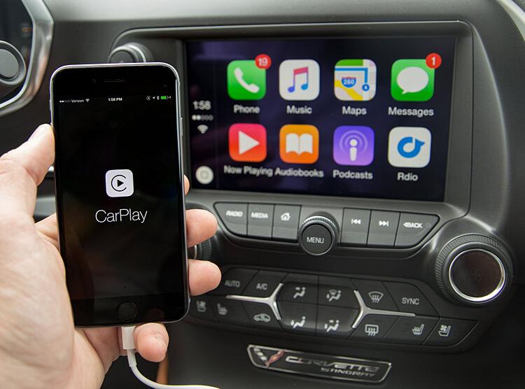 подключение Apple CarPlay к iPhone