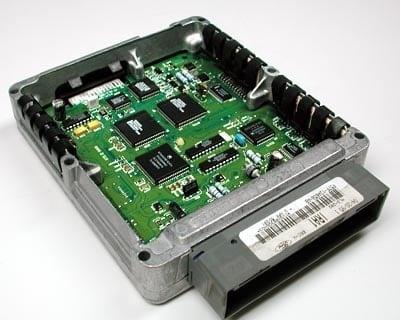 Электронный блок управления (со снятой крышкой)