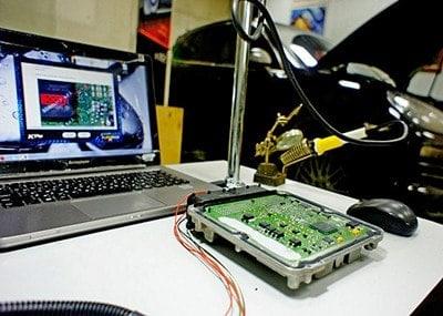 ЧИП-тюнинг электронного блока управления
