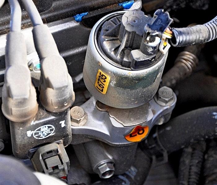 клапан ЕГР на Chevrolet Lacetti