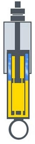 газомасляный амортизатор