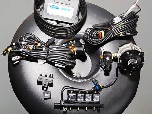 Комплект газобалонного оборудования