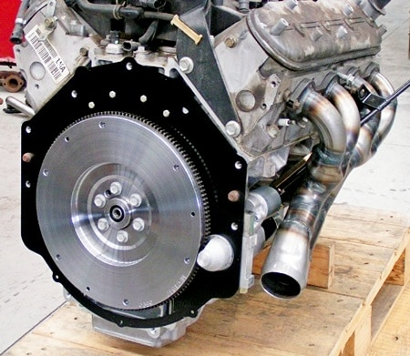 маховик на двигателе