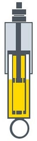 двухтрубный масляный амортизатор