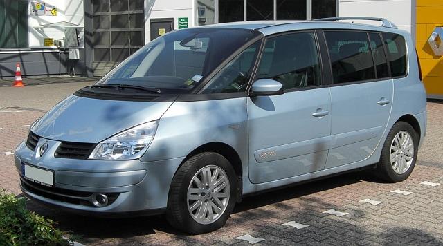 современный минивэн Renault Espace IV