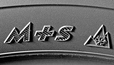 Маркировка M+S на шине