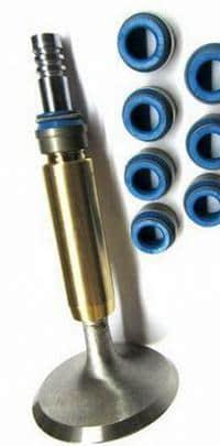 клапан и маслосъемные колпачки